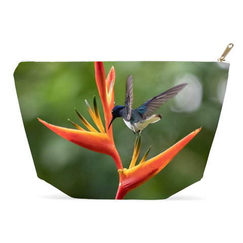 Image of White-necked Jacobin Hummingbird Accessory Pouch