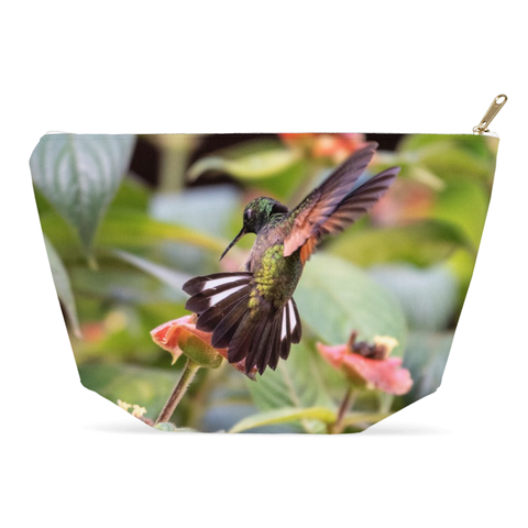 Image of Stripe-tailed Hummingbird Accessory Pouches
