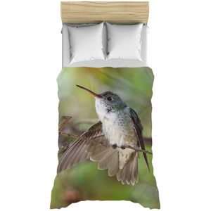 White-bellied Hummingbird Duvet Cover
