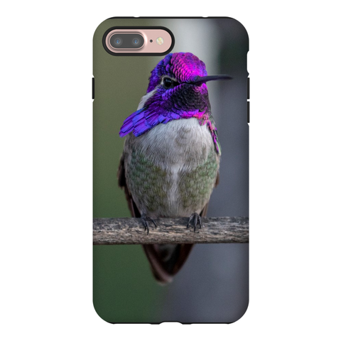 Image of Costa's Hummingbird Phone Case for iPhone
