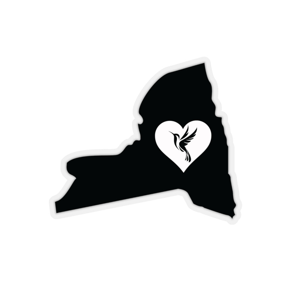 New York - Hummingbird Lover Sticker