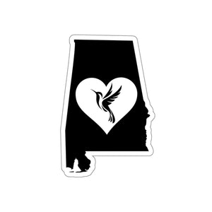 Alabama - Hummingbird Lover Sticker