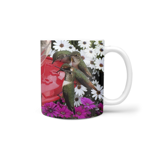 Hummingbird Feeder Coffee Mug