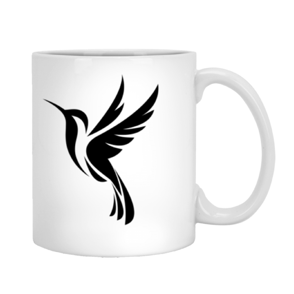 Black Logo 2 sided - 11 oz. White Mug