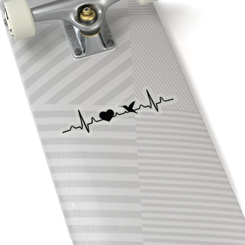 Image of My Heart Beats for Hummingbirds Decal