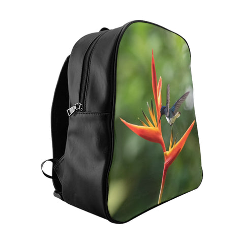 White-necked Jacobin Hummingbird School Backpack