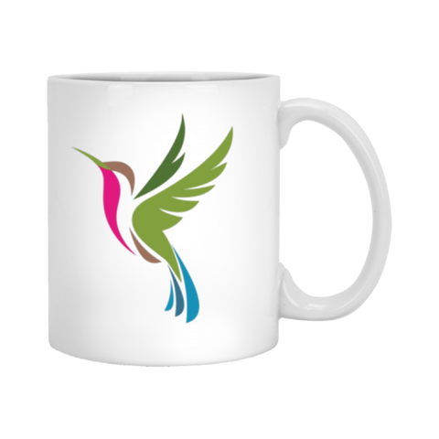 Image of Color Logo 2 sided - 11 oz. White Mug