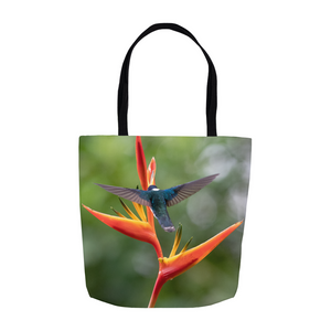 White-necked Jacobin Hummingbird Tote Bag