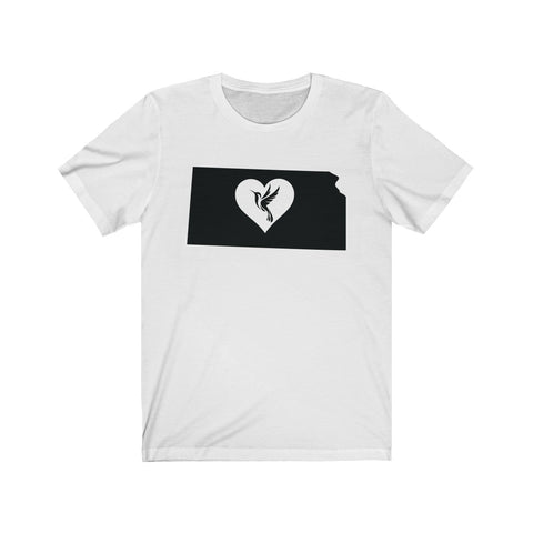 Image of Kansas - Hummingbird Lover Tee