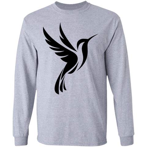 Hummingbird Spot Logo Men's  LS Ultra Cotton T-Shirt