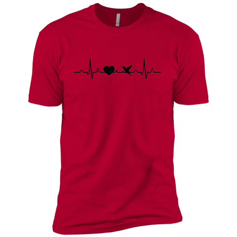 My Heart Beats for Hummingbirds - Men's Short Sleeve T-Shirt
