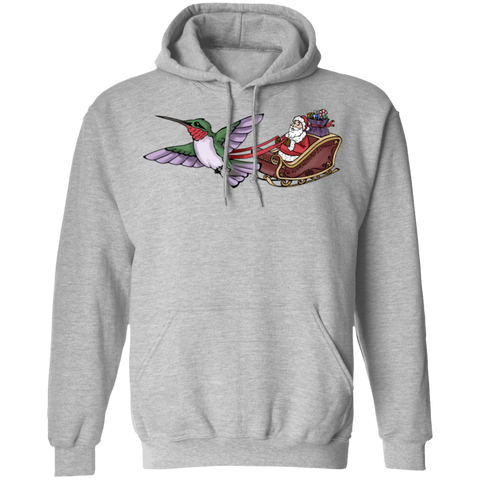 Who Needs Rudolph Men's Holiday Pullover Hoodie