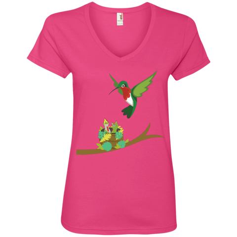 Image of A Mother's Love Ladies' V-Neck T-Shirt