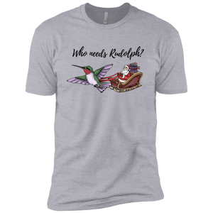 Who Needs Rudolph? w/ text Premium Short Sleeve T-Shirt
