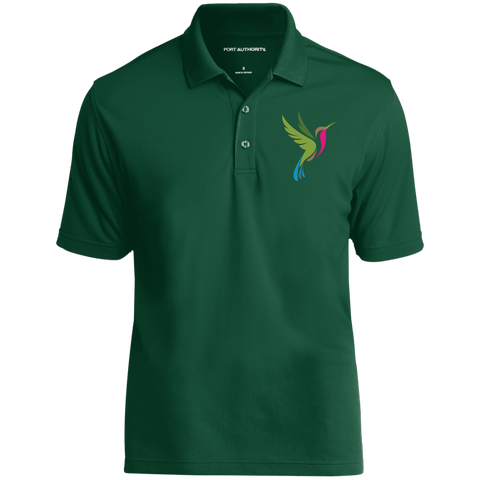 Hummingbird Spot Color Logo Men's Dry Zone UV Micro-Mesh Polo