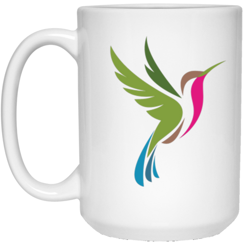 Image of Color Logo 2 sided - 15 oz. White Mug