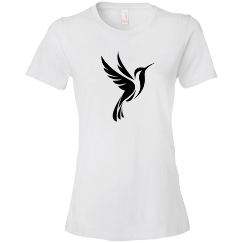 Image of Hummingbird Spot Logo - Lightweight T-Shirt 4.5 oz