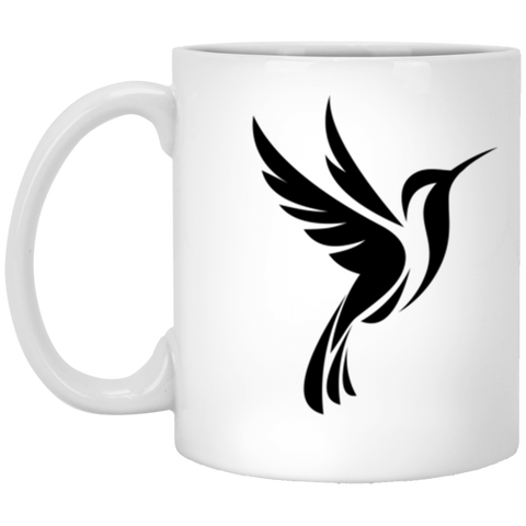 Image of Black Logo 2 sided - 11 oz. White Mug