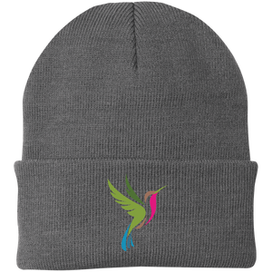 Hummingbird Spot Logo Knit Hat