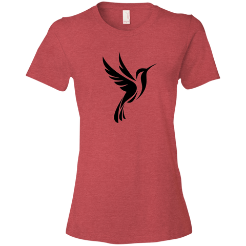 Hummingbird Spot Logo - Women's Lightweight T-Shirt
