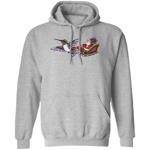 Who Needs Rudolph Women's Holiday Pullover Hoodie