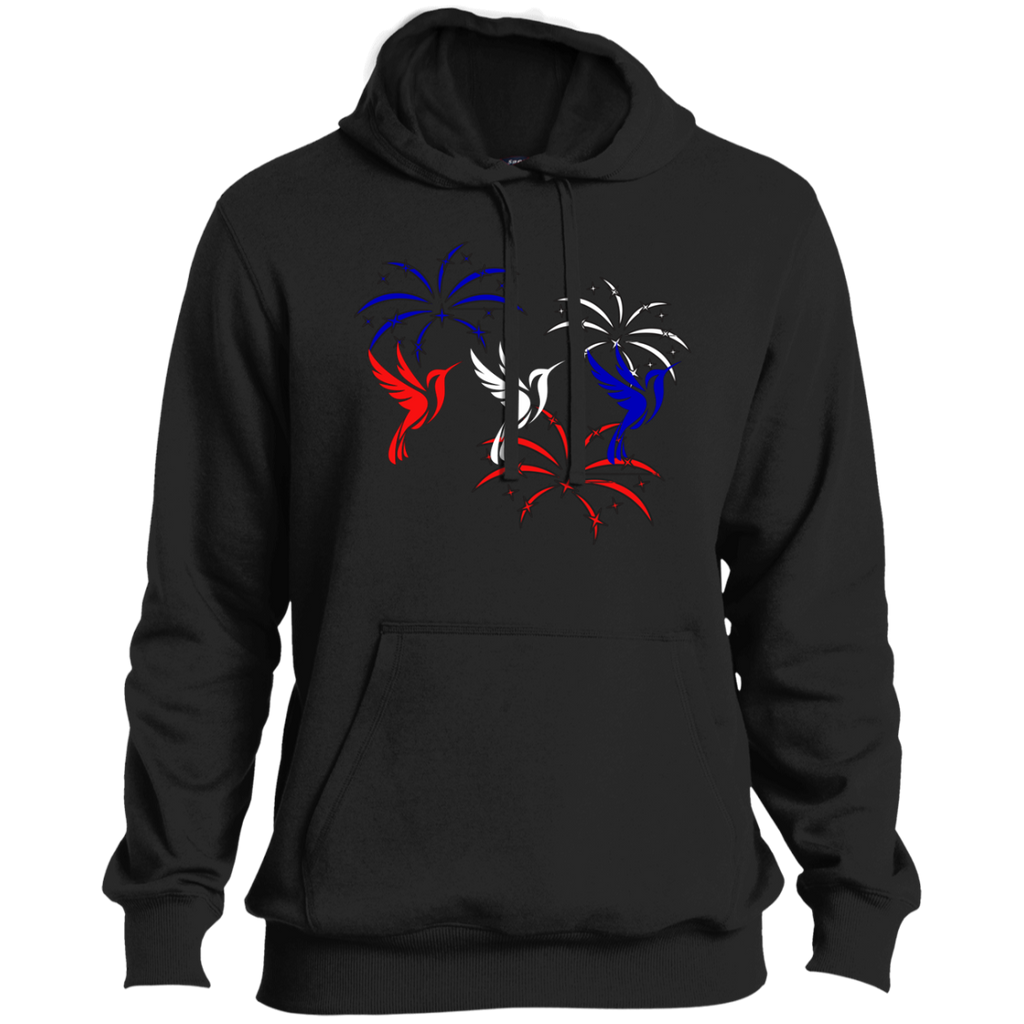 Red White and Blue Hummingbirds Hoodie