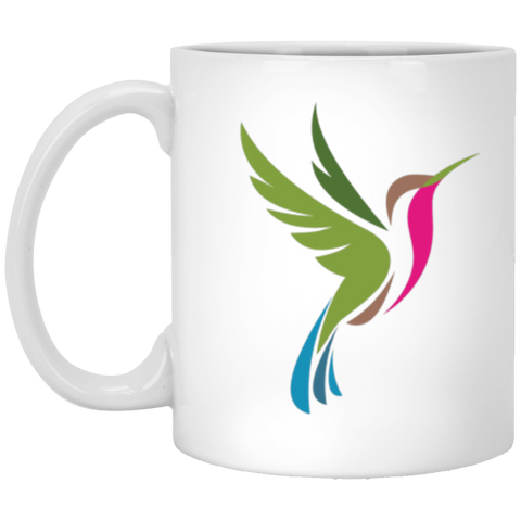 Color Logo 2 sided - 11 oz. White Mug