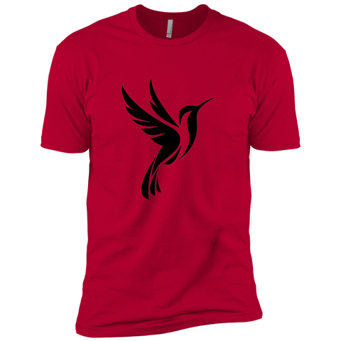 Hummingbird Spot Logo - Men's Short Sleeve T-Shirt