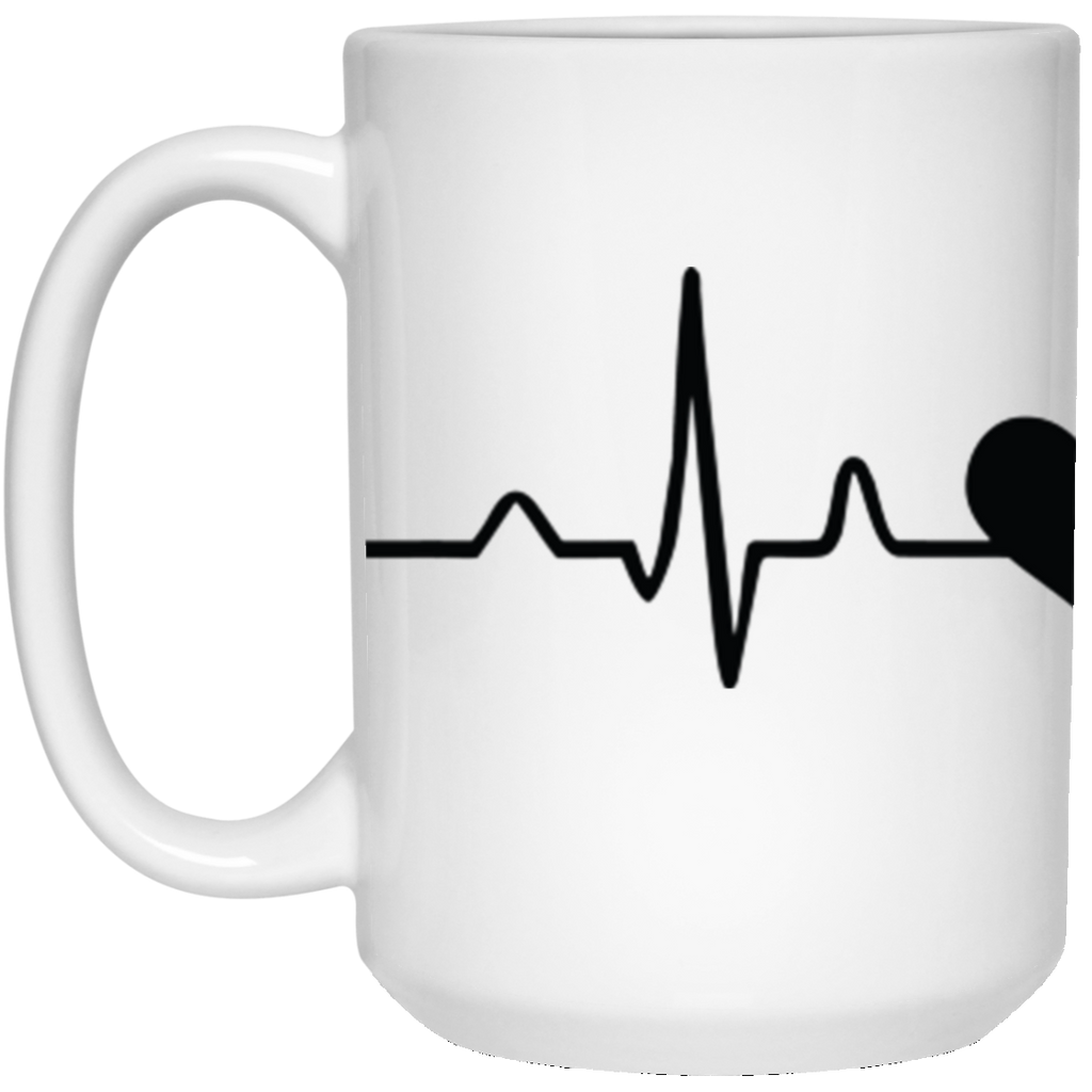 My heart beats for Hummingbirds -15 oz. Mug