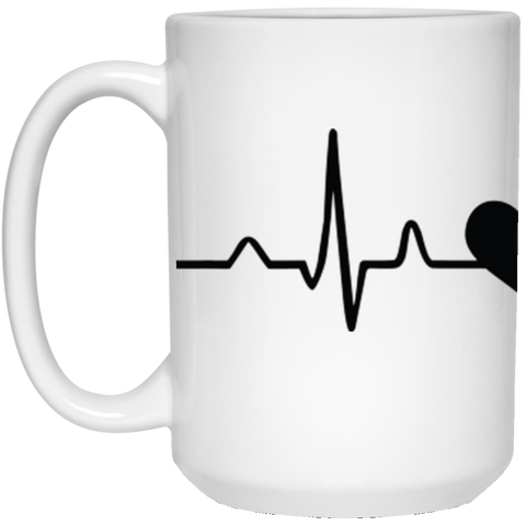 Image of My heart beats for Hummingbirds -15 oz. Mug