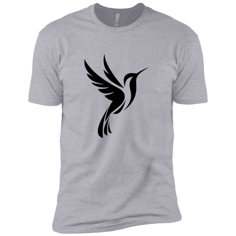 Image of Hummingbird Spot Logo -l Premium Short Sleeve T-Shirt