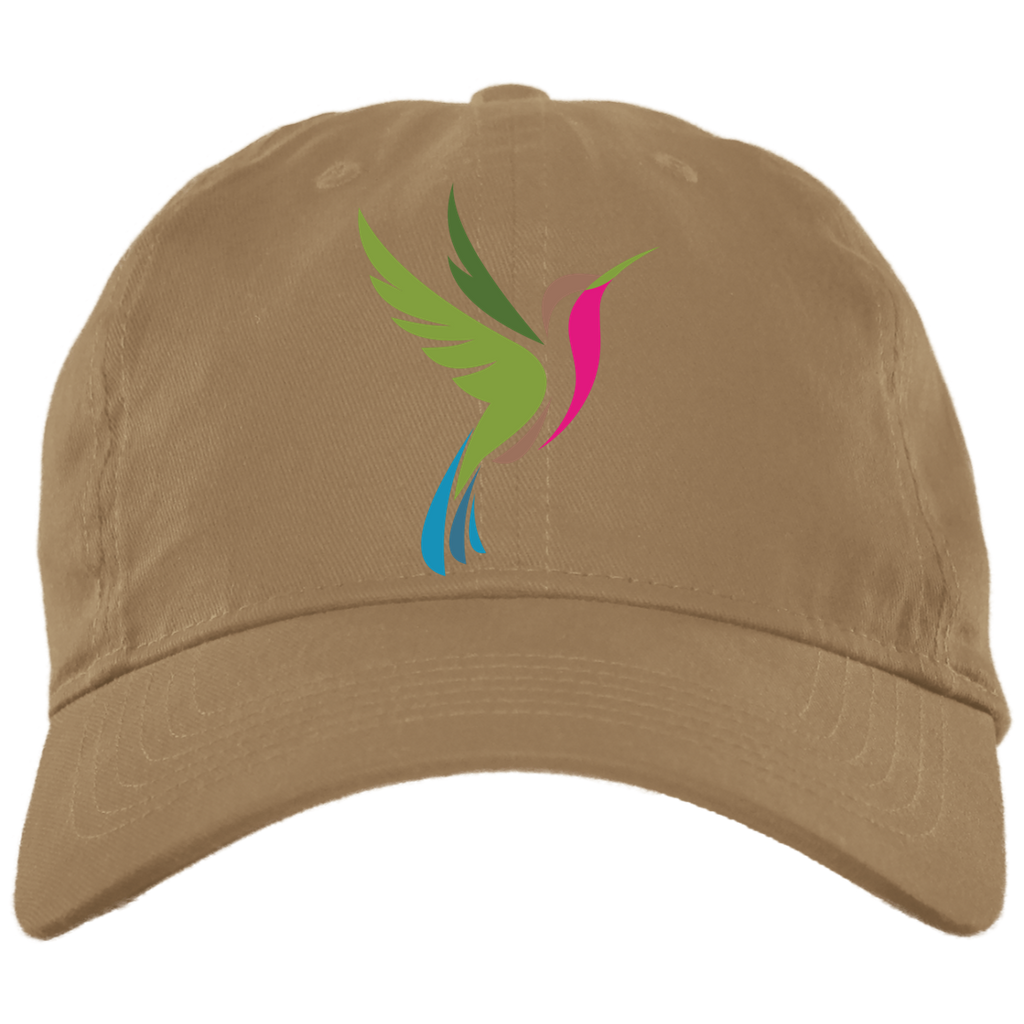 Brushed Twill Unstructured Hat