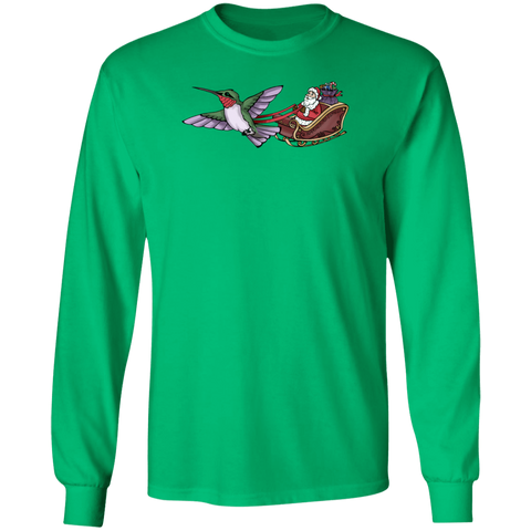 Who Needs Rudolph Men's Holiday LS T-shirt