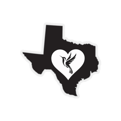 Image of Texas - Hummingbird Lover Sticker