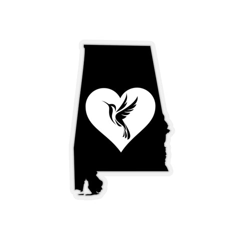 Alabama - Hummingbird Lover Decal