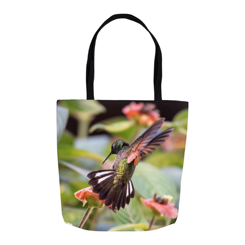 Image of Stripe-tailed Hummingbird Tote Bag
