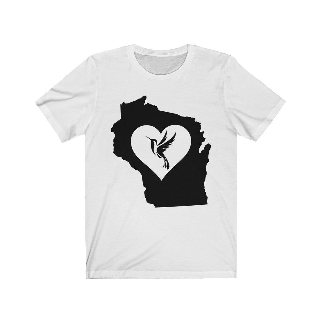 Wisconsin - Hummingbird Lover Tee