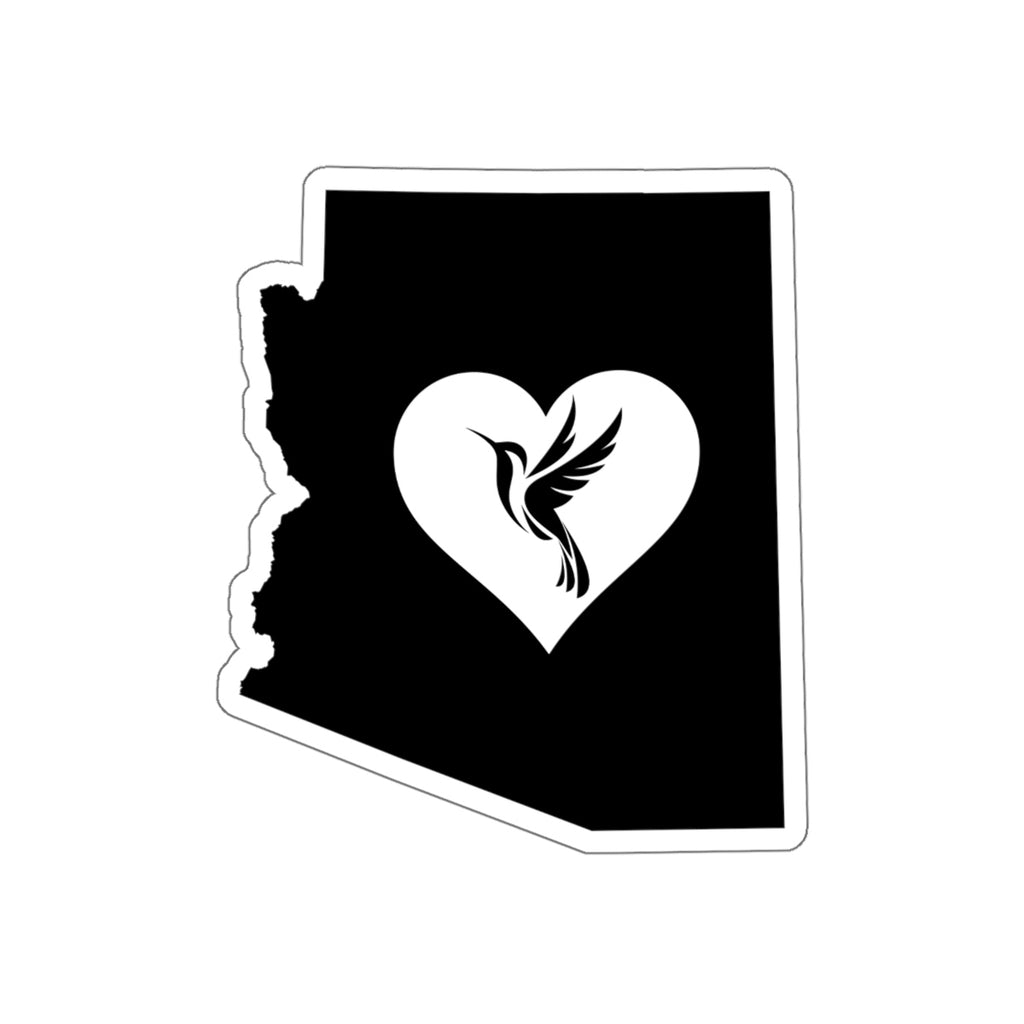 Arizona - Hummingbird Lover Sticker.