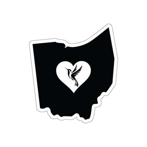Image of Ohio - Hummingbird Lover Sticker