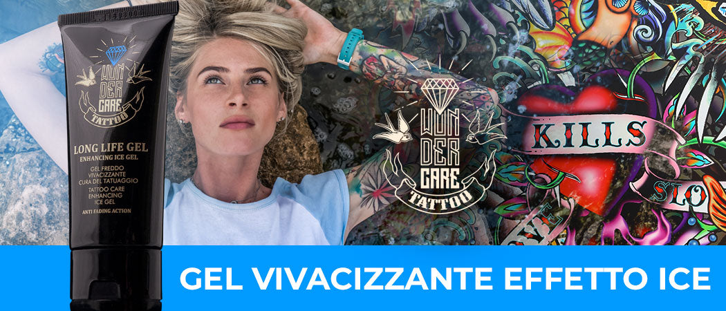 Gel Vivacizzante per Tattoo Colorati