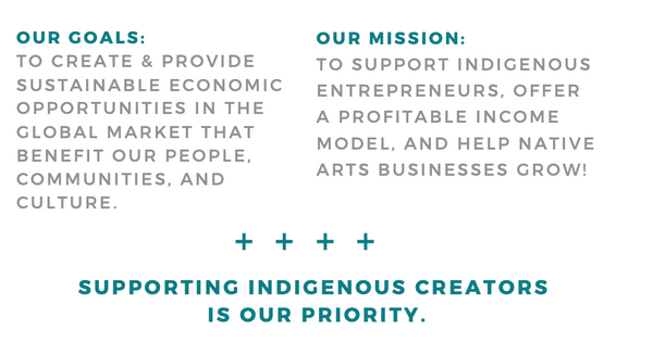 collective goals - Native American artists and entrepreneurs