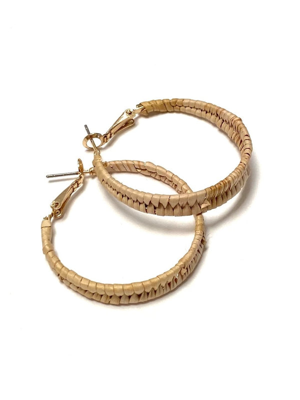 Cedar Wrapped Hoops - Small - B.YELLOWTAIL