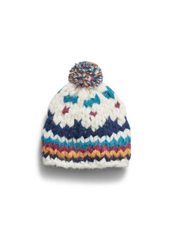 B.Yellowtail x Faherty Alpaca Hand-knit beanie - B.YELLOWTAIL