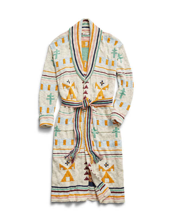 B.Yellowtail x Faherty Paloma Duster / Robe - B.YELLOWTAIL