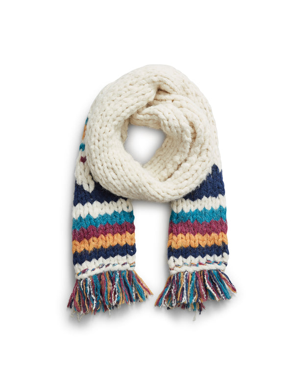B.Yellowtail x Faherty Alpaca Hand-knit Scarf - B.YELLOWTAIL