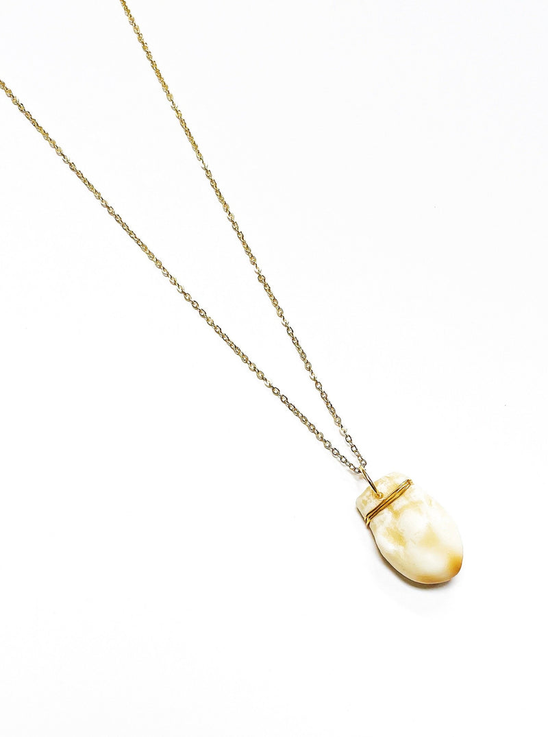 B.Yellowtail Ivory Necklace - B.YELLOWTAIL