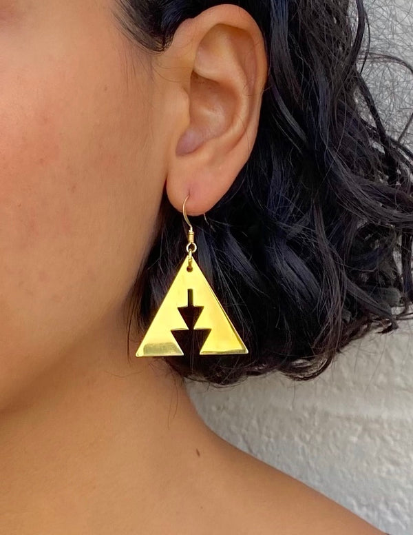 Golden Canyon Earrings - B.YELLOWTAIL