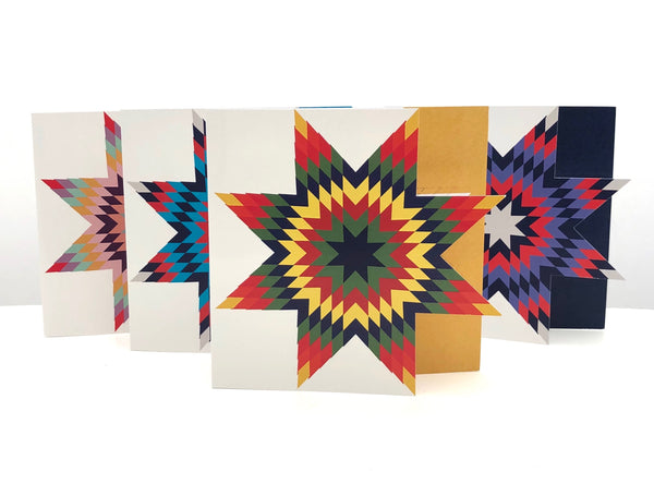 Star Quilt stationery set - 4pk - B.YELLOWTAIL