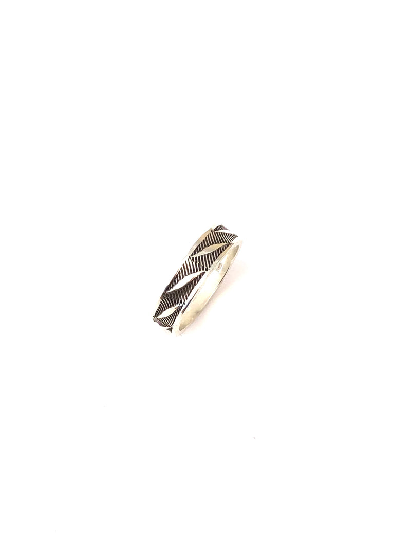 Acoma Feather Ring - B.YELLOWTAIL