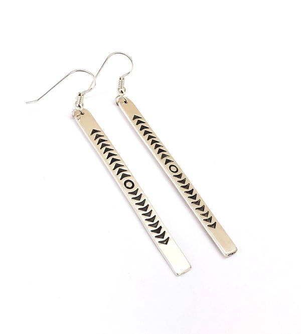 Arrow's Path Earrings - B.YELLOWTAIL